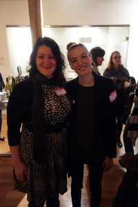 Amanda Elliott and Monica Komperda at SheSays networking event