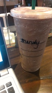 Freelance writing at Starbucks