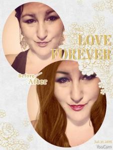 Virtual Hair Dye Makeup App
