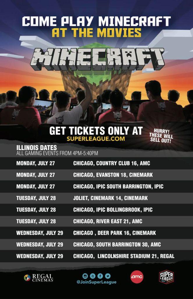 Minecraft at Chicago Movie Theatres