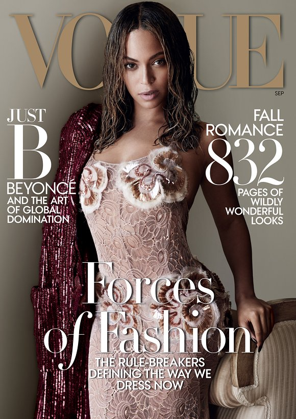 beyonce-september-cover-2015 Photo: Vogue