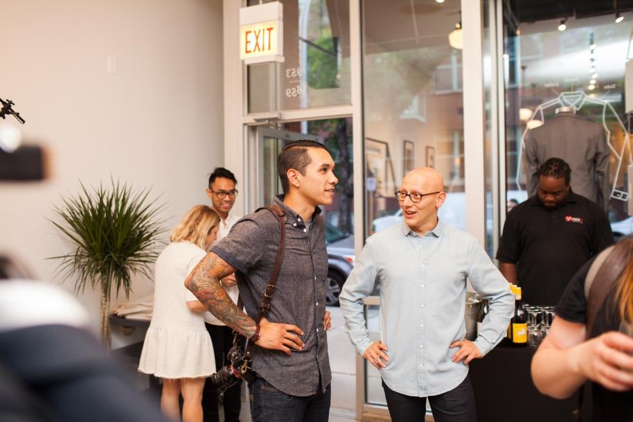 Frank & Oak Media Event Photo: James Rosen for Frank & Oak