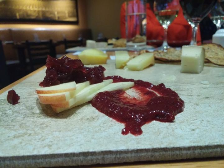 Cheese Platter for Wine Wednesday at Bin 36 Photo: Amanda Elliott