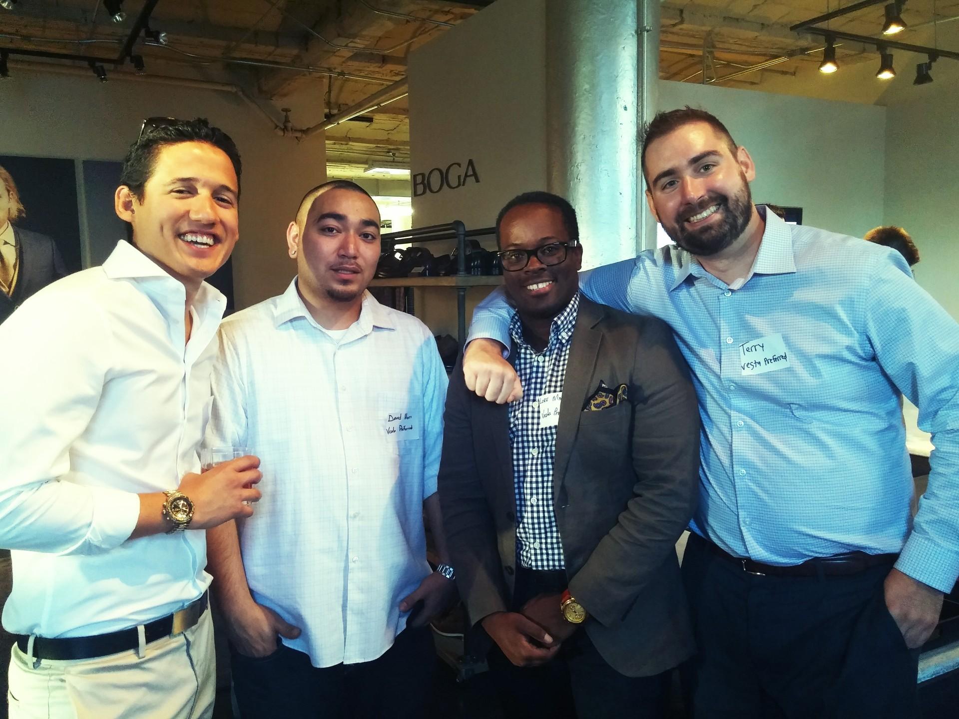 Real Estate Professionals at BOGA's event. Photo: Amanda Elliott