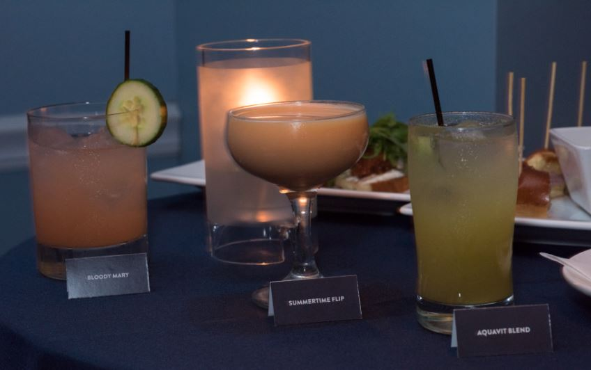 Violet Hour Creates 3 Stock Cocktails Photo: Progresso Stocks
