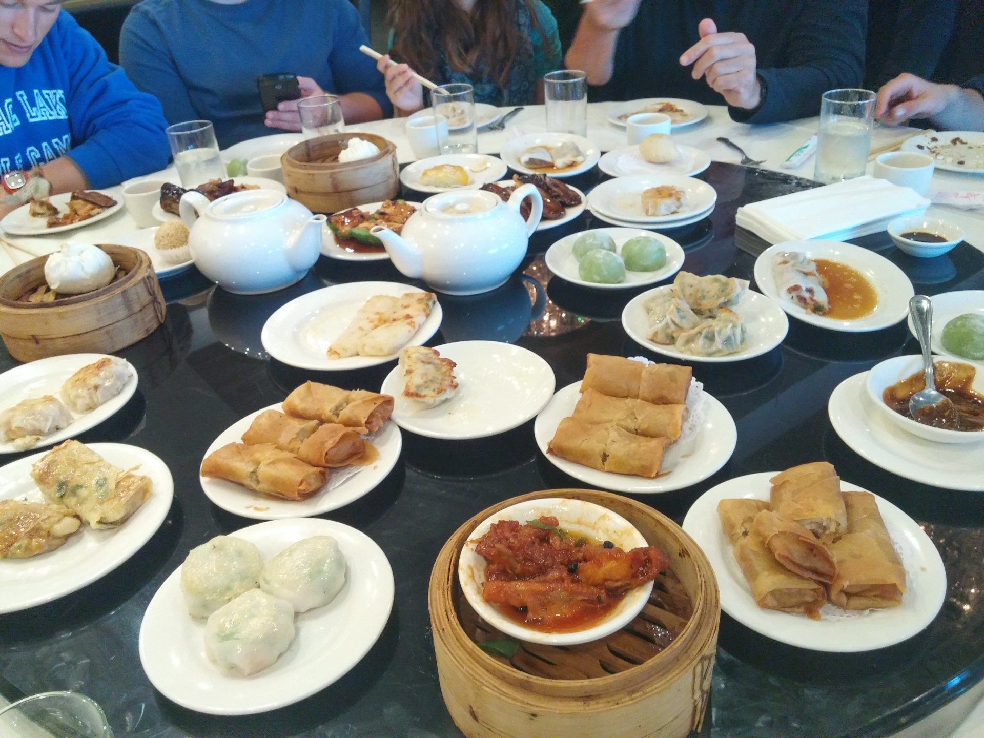 A group of 14 enjoyed Dim Sum at Phoenix Restaurant Photo: Amanda Elliott