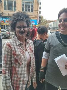 Chicago Pub Crawl Zombies on Milwaukee Ave. Photo: Amanda Elliott