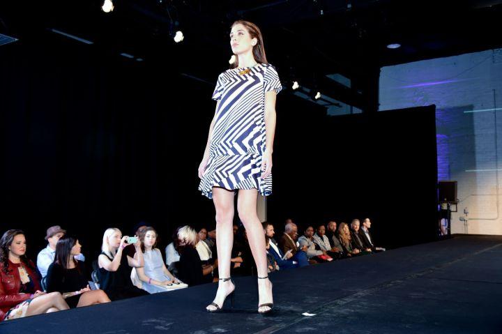 Aneta Geometric Print Dress from RiaBulga Photo: Isabel Souza