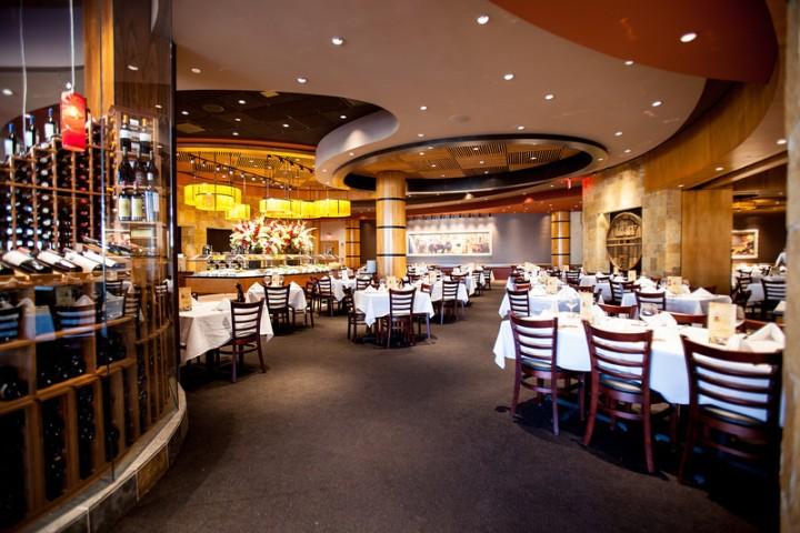 Fogo de Chao Rosemont dining room