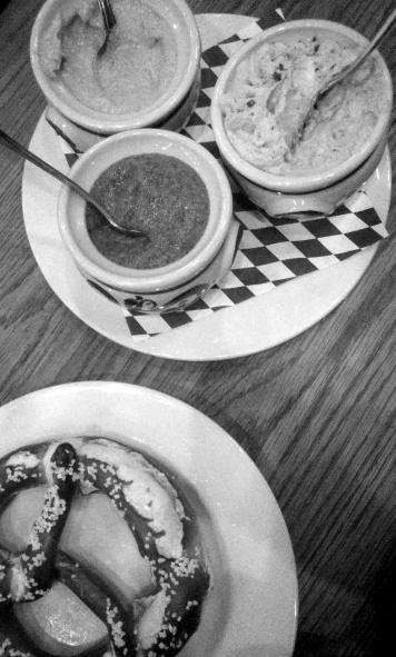 German pretzels in Rosemont.