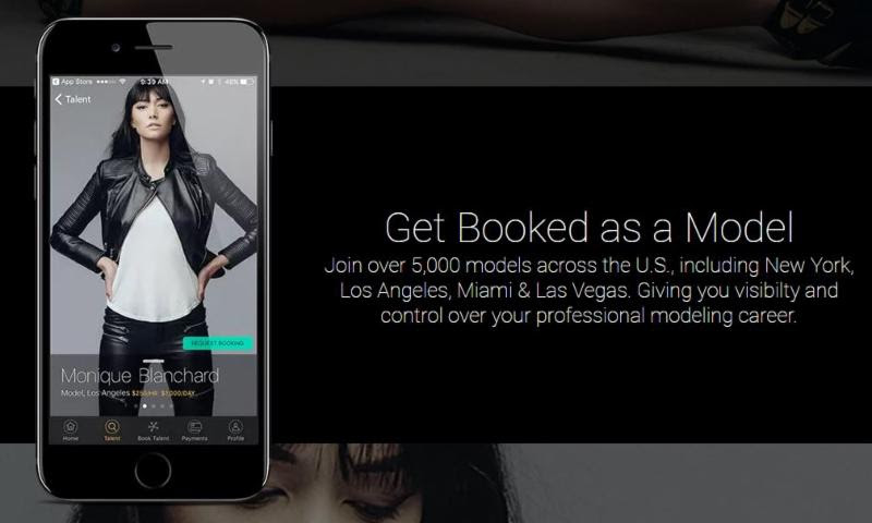 App Helps Models Get Booked